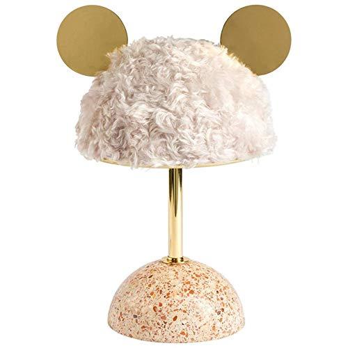 YZYZYZ Lámpara de mesa Dibujos animados nórdicos lindos Lámpara de mesa de lujo Lámpara de lujo Habitación para niños Luz cálida Luz de regalo Dormitorio Moderno Minimalista dormitorio Cama Escritorio
