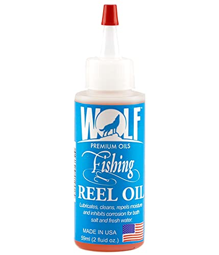 Wolf Premium Oil All-in-One Fishing Oil & Cleaner
