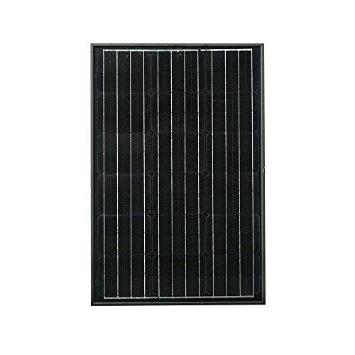 Emerorthy - Panel solar monocristalino fotovoltaico de 60 W para carga de batería de 12 V