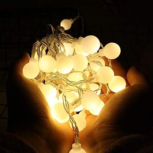 Romantische Lichterketten, 1.5m 3m 6mled Lichterketten LED Weihnachtsbeleuchtung, batteriebetriebene Weihnachts Lichter for Weihnachtsdekorationen Net Red Schlafzimmer Romantik Zimmer Vorhang Dekorati