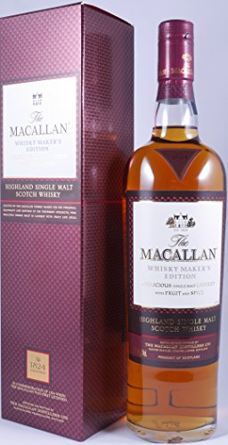 Rarität: The Macallan Maker's Edition 0,7l mit 42,8% vol. in Geschenkpackung - Highland Single Malt Scotch Whisky