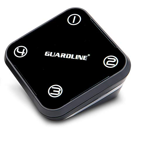 Guardline Extra Receiver for 500 ft. Wireless Driveway Alarm