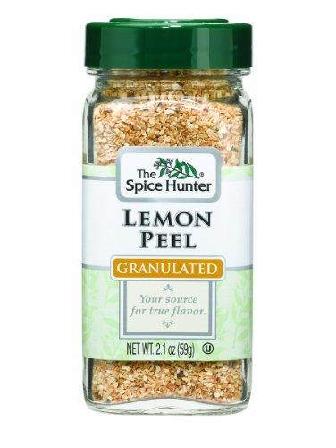 Lemon Peel, Granulated