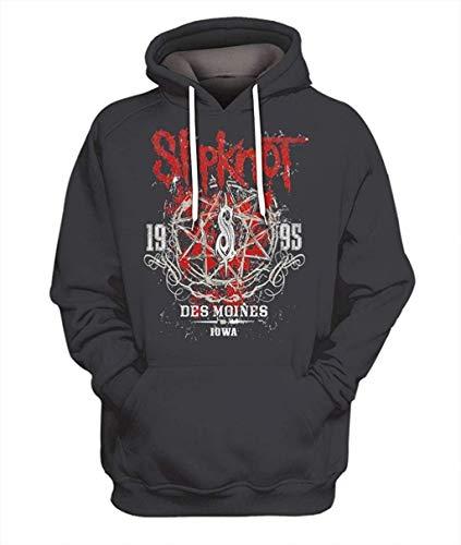 Bloodhoof-Slipknot-Hoodie Heavy Metal Hard Rock Music Punk Tour Concierto