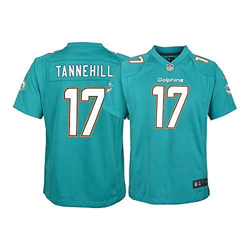 New Nike Onfield Ryan Tannehill Youth Miami Dolphins Aqua Retro Alternate Throwback Logo Jersey Sz Large