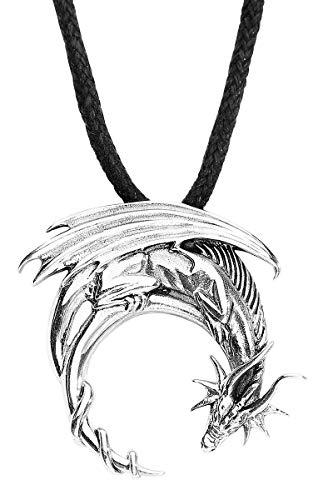 etNox Anhänger Drache Drachenanhänger aus Silber 5053