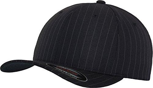 Flexfit Erwachsene Mütze Pinstripe, Navy/Wht, L/XL