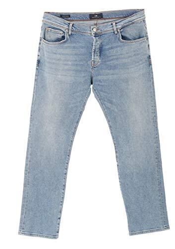 LTB Herren Jeans Jeanshose Sawyer - Slim Fit - Blau - Tucker Wash W28-W38 99% Baumwolle Stretchjeans schmal geschnitten, Größe:W 32 L 32, Farbvariante:Tucker Wash (51423)