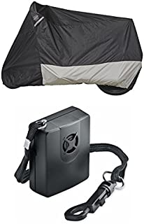 Guardian By Dowco - WeatherAll Plus Motorcycle Cover - Medium with Dowco's Integrated 130 Decibel Alarm System