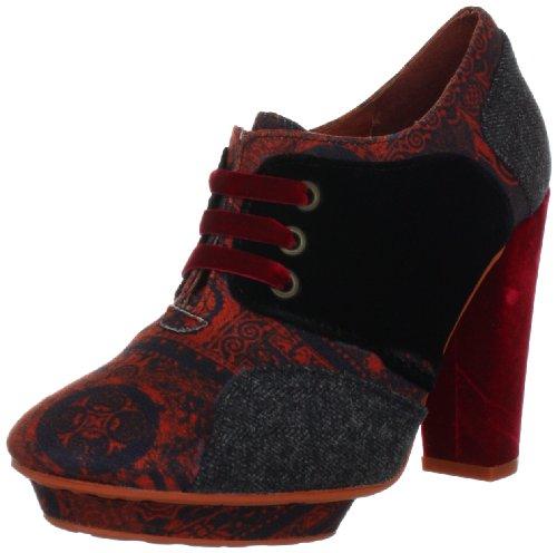 Desigual Damen Shoe_MASCULINES PISTARINI Casual Schnürer, Rot (Rojo 3092), 36 EU