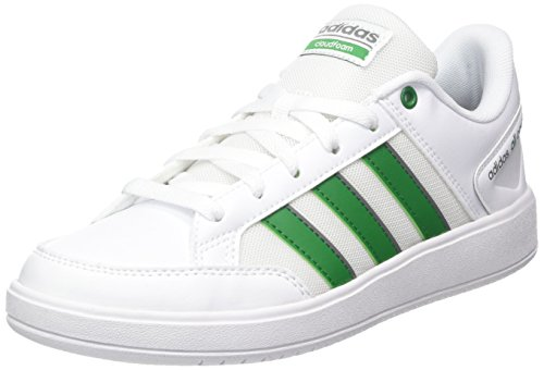 adidas Cloudfoam All Court, Zapatillas de Tenis Hombre, Blanco (Ftwwht/Green/Grethr Ftwwht/Green/Grethr), 42 EU