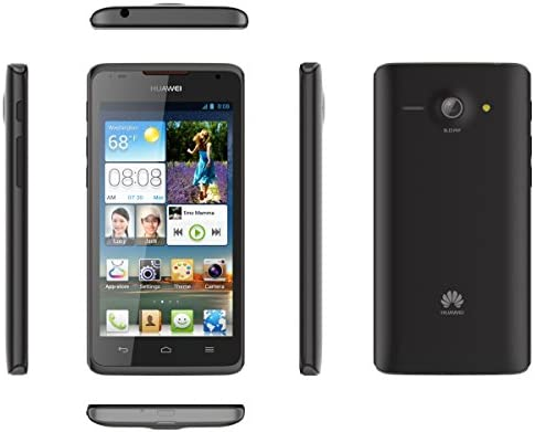 Huawei Ascend Y530, 4GB, Factory Unlocked GSM Android Smartphone - Black WeeklyReviewer