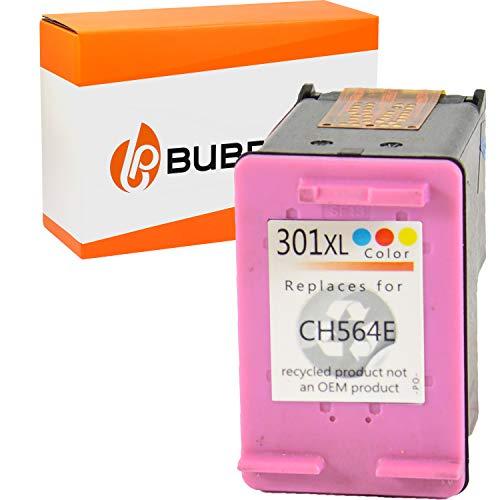 Bubprint Druckerpatrone kompatibel für HP 301 XL für DeskJet 1000 1010 1050 1510 2050 2540 2544 2545 3050A 3055A Envy 4500 4502 4504 4508 5530 OfficeJet 2620 2622 4630 4632 4634 4636 Farbe