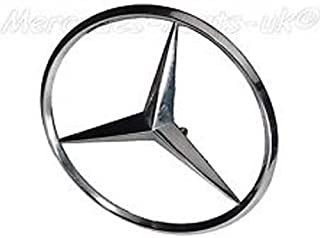 Mercedes Rear Hatch Chrome Star Emblem New OE W123 Wagon