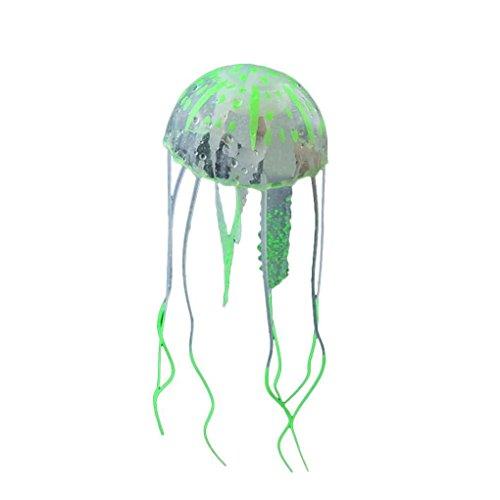 Unbekannt Coco Gl¨¹heffekt k¨¹nstliche Quallen Aquarium Aquarium Dekor Mini U-Boot-Ornament