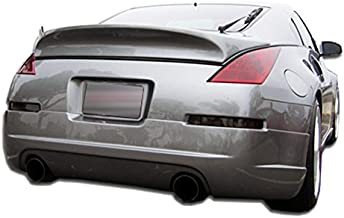 KBD Body Kits Compatible with Nissan 350Z 2003-2008 ING Style 1 Piece Flexfit Polyurethane Rear Lip. Extremely Durable, Easy Installation, Guaranteed Fitment, Made in the USA!