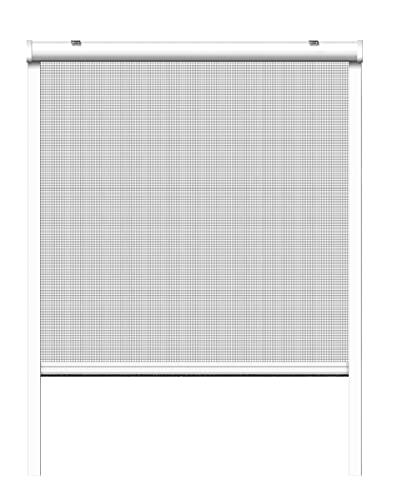 Schellenberg 70984 Insektenschutz Rollo Basic 130x160 cm weiß, Insektenschutzrollo