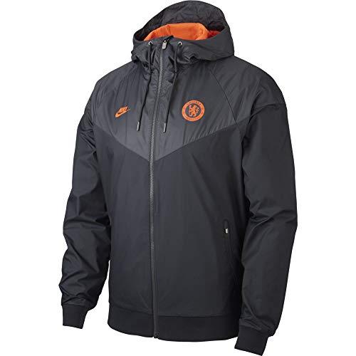 Nike 2019-20 Chelsea Windrunner CL Jacket - Black-Orange M