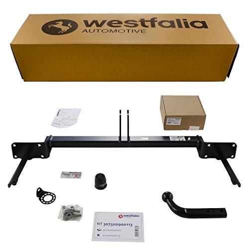 Westfalia Starre Anhängerkupplung - AHK für Ford Tourneo Connect / Transit Connect (BJ 02/2014 - 08/2018) - Im Set mit 13-poligem fahrzeugspezifischen Elektrosatz