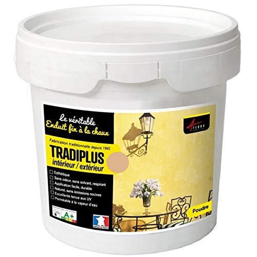 Tradiplus – Barniz para decoración interior y exterior – LISBONNE – Kit de 15 kg – hasta 14 m2 – Arcane Industries