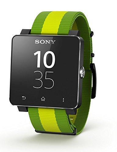 Sony SW2 Android/NFC Visualización directa SmartWatch