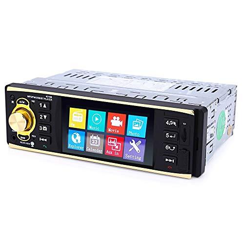 Jurenay Nuovo Lettore multimediale per Auto 4019B Lettore MP5 da 4,1'Montato sul Veicolo Autoradio Audio FM Video con Telecomando della Fotocamera può Rilassarsi