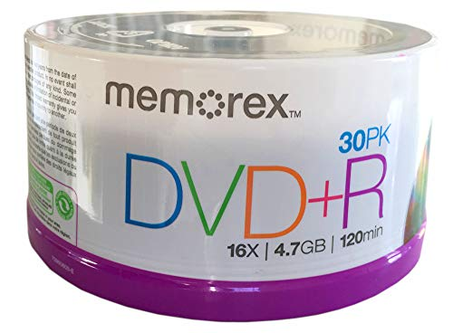 Memorex DVD+R 30 Pack