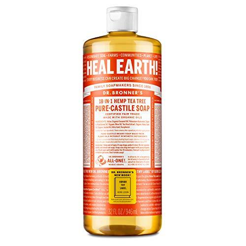 Dr. Bronner's Naturseife - Flüssigseife - Teebaum - 945 ml
