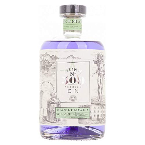 Buss N°509 ELDERFLOWER Belgium Flavor Gin Author Collection 40,00% 0,70 lt.