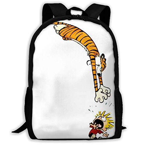 Lawenp Calvin - Hobbes Waterproof Adult Unisex Backpack For School,Travel,Outdoor,