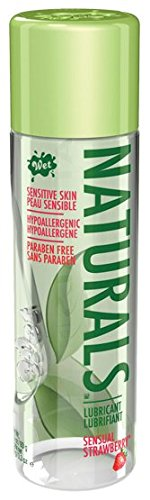 Wet Naturals Sensual Strawberry Flavored Lube Natural Lubricant for Women, 3.3 oz/93g