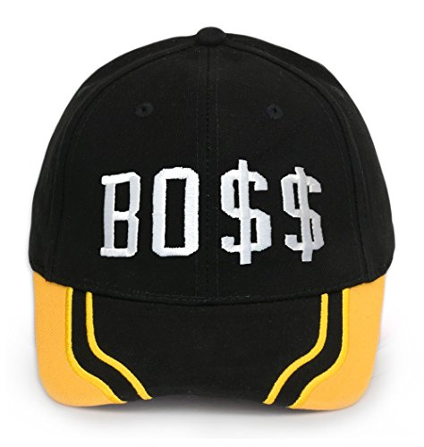 Bonnet Chapeau Casquette Snapback Baseball Hip-Hop Bad Hair Day Cash Meow Snap Back (Boss yellow)