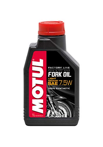 Motul 101127 Fork Oil Factory Line, Light/Medium, 1 L