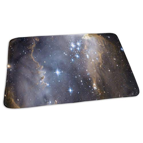 Voxpkrs Changing Pad Outer Space Stars Baby Diaper Urine Pad Mat Trendy Boys Sheet Sheet for Any Places for Home Travel Bed Play Stroller Crib Car