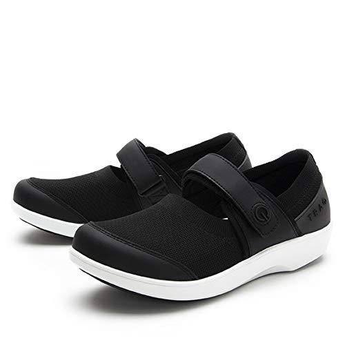 Alegria TRAQ Qutie Womens Smart Walking Shoe Black Top 5 M US