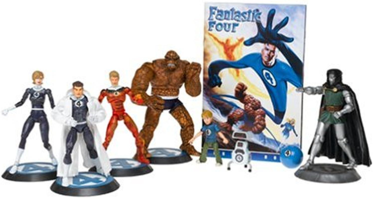 gran descuento MARVEL LEGENDS FANTASTIC FOUR caja con 6 figuras figuras figuras PVC 11-17cm  Para tu estilo de juego a los precios más baratos.