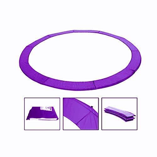 Andreas Dell Randabdeckung Federabdeckung Randschutz Schutz für Trampolin von 250 bis 460 cm (Lila, 430)
