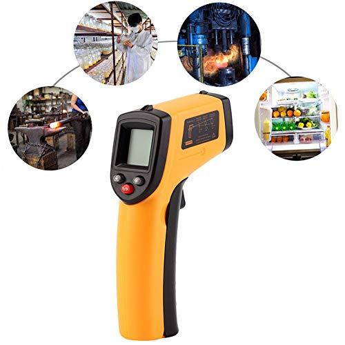 Digitale thermometer Contactloze temperatuurmeter Pyrometer IR-puntpistool -50~380 Celsius Thermometer voor kat Hond Konijn Boerderijdieren ℃ / ℉