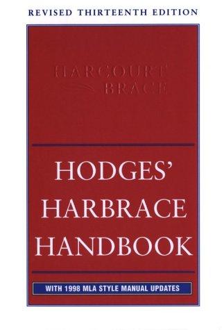 Hodges' Harbrace Handbook, Revised: MLA Update