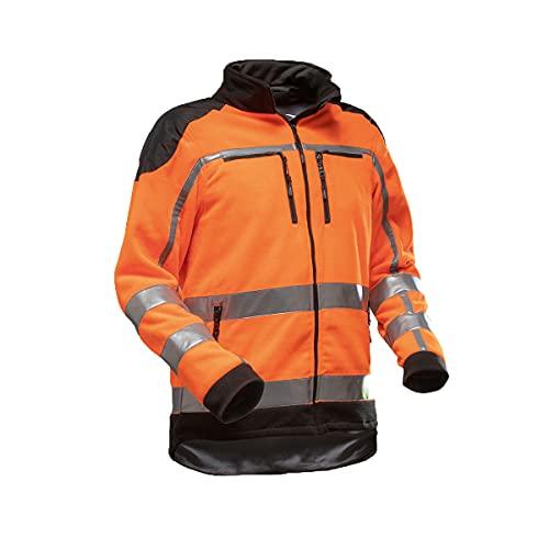 Pfanner Warnschutz 102348 Fleecejacke, Farbe:orange, Größe:XXL