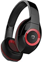 iHome iB87 Over-The-Ear Wireless Bluetooth 4.0 Headphones with Built-in Mic and 12 Hour Battery