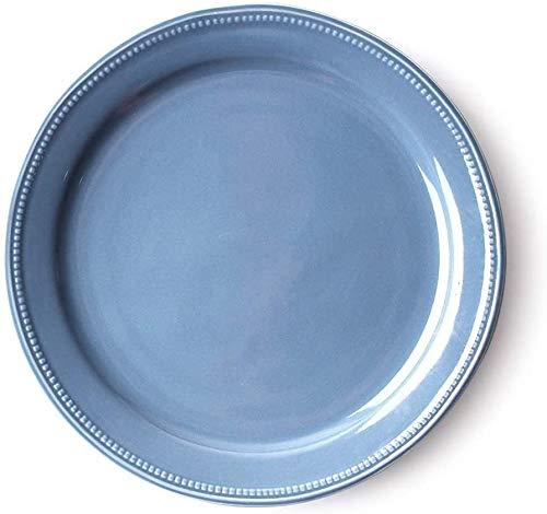 MJK Cuencos y platos caseros de la novedad, cuenco de cerámica minimalista moderno, antideslizante, resistente a la corrosión, resistente al escaldado, creativo, multiuso, bandeja de aperitivos para