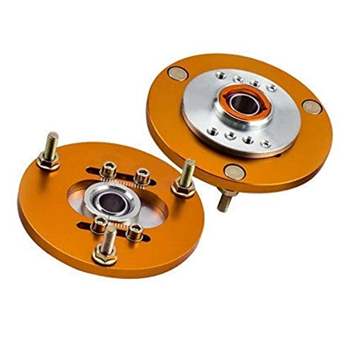 Rumors 1 Pair Fit For BMW E36 318 320 323 325 328 M3 Front Coilover Camber Plate Top Mount For Tcd