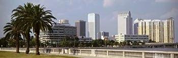 Posterazzi Skyline Tampa FL USA Poster Print  36 x 12