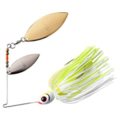 Designed For Maximum Vibration Perfect For Cool- Or Murky-Water Situations Features A 55-Strand Bio-Flex Silicone Skirt The Skirt Undulates Like A Baitfish