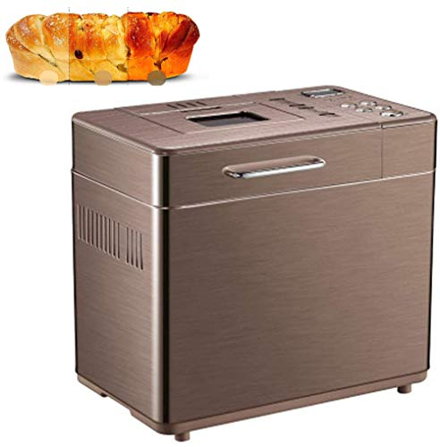 Best Review Of WellingA Automatic Bread Machine, 3 Crust Colors 2 Loaf Sizes, Home Bakery Pro 19 Men...
