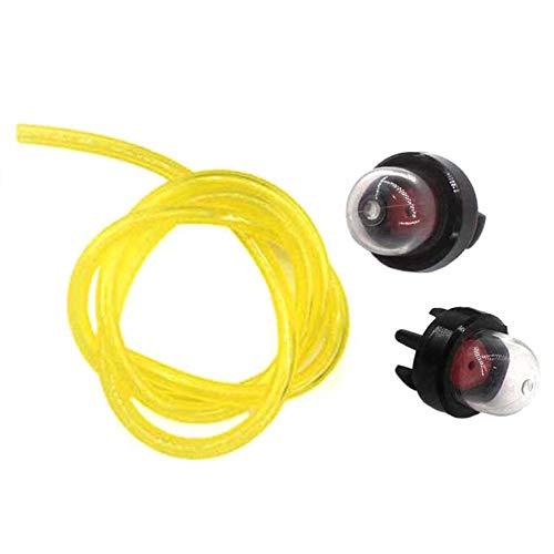 AISEN 2x Primer Pumpe Benzinpumpe mit Schlauch für Motorsense Husqvarna 225 232 235 323 Trimmer