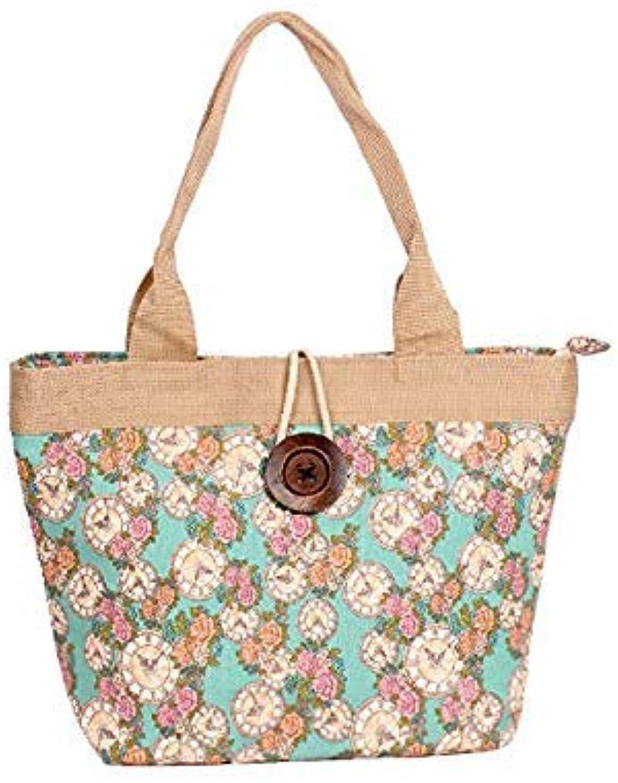 Bloomerang Canvas Bags Shopping Shoulder Bag Handbag Tote Casual Shoulder Bag Large Capacity Travel Canvas Bag Women Dropshipping color 1