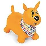 Ludi- Juegos de hábil idad Mi Perro Saltarín Amarillo, Multicolor (2778)
