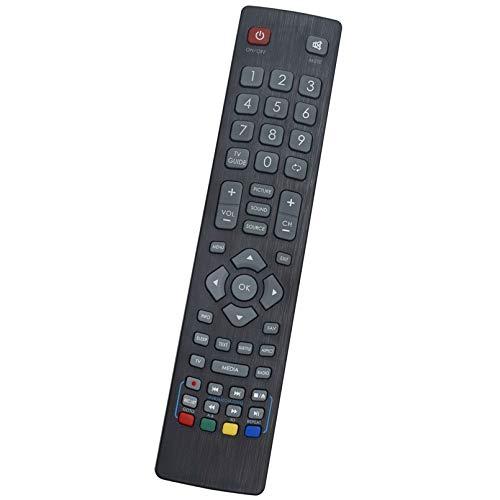 ALLIMITY Mando a Distancia Reemplazar Apto para Sharp Aquos TV LC-43CFF5222E LC-43CFF5221E LC-40CFF5222E LC-40CFF5221E...